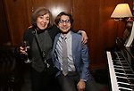 Nancy Ford and Daniel Lazour attend the Dramatists Guild Fund Salon With Rick Elice at the Cornell Club on March 6, 2017 in New York City.