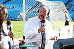 15 July 2015: Univision Deportes announcer Enrique Bermudez. The Mexico Men's National Team played the Trinidad & Tobago Men's National Team at Bank of America Stadium in Charlotte, NC in a 2015 CONCACAF Gold Cup Group C match. The game ended in a 4-4 tie.