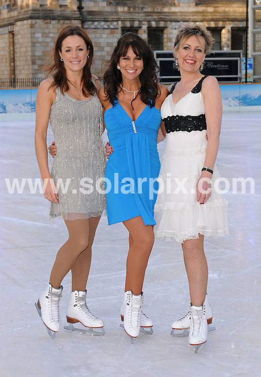 **ALL ROUND PICTURES FROM SOLARPIX.COM**.**WORLDWIDE SYNDICATION RIGHTS**.The Photocall revealing the line up for new series of ITV show Dancing On Ice at the Natural History Museum in Kensington, London..This pic:NATERLIE,LINDA,AGGIE..JOB REF:5549- SSD     DATE:07_01_08.**MUST CREDIT SOLARPIX.COM OR DOUBLE FEE WILL BE CHARGED* *UNDER NO CIRCUMSTANCES IS THIS IMAGE TO BE REPRODUCED FOR ANY ONLINE EDITION WITHOUT PRIOR PERMISSION*