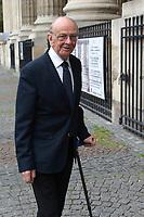 Invité - Hommage à Gonzague Saint Bris en l'église Saint-Sulpice à Paris, France - 28/9/2017