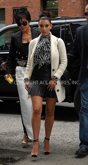 WWW.ACEPIXS.COM . . . . .  ....April 24 2012, New York City....Kim Kardashian and Kris Jenner out in the Meatpacking District on April 24 2012 in New York City....Please byline: CURTIS MEANS - ACE PICTURES.... *** ***..Ace Pictures, Inc:  ..Philip Vaughan (212) 243-8787 or (646) 769 0430..e-mail: info@acepixs.com..web: http://www.acepixs.com