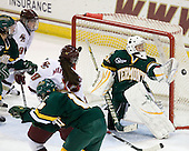 Saleah Morrison (Vermont - 4), Allie Thunstrom (BC - 9), Ashley Motherwell (BC - 18), Erin Wente (Vermont - 18), Kristen Olychuck (Vermont - 35) - The University of Vermont Catamounts defeated the Boston College Eagles 5-1 on Saturday, November 7, 2009, at Conte Forum in Chestnut Hill, Massachusetts.