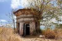 Old fortified gun site, on hill overlooking Vung Tau, Vietnam