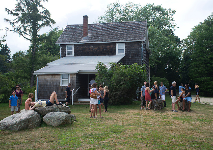 Jackson Pollock Lee Krasner studio and house in Springs, Long Island.  New York 2012