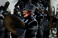 A military band take part in the annual Veterans Day parade in New York.  10.11.2014. Eduardo Munoz Alvarez/VIEWpress