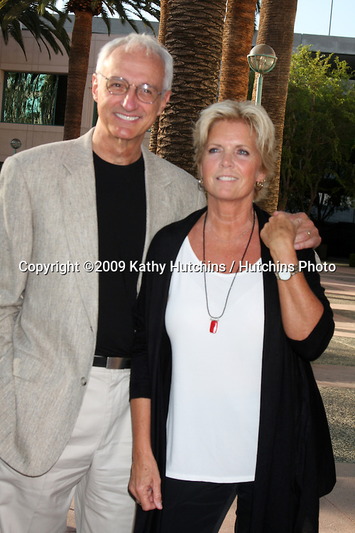 "Michael Gross & Meredith Baxter arriving at the ""Salute to TV Dads"" Event at the Academy of Television Arts & Sciences in North Hollywood , CA on June 18, 2009.  .©2009 Kathy Hutchins / Hutchins Photo"