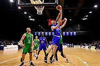 Saints' Nick Kay in action during the NBL - Cigna Saints v Manawatu Jets at TSB Bank Arena, Wellington, New Zealand on Sunday 30 June 2019. <br /> Photo by Masanori Udagawa. <br /> www.photowellington.photoshelter.com