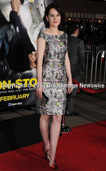 Pictured: Michelle Dockery<br /> Mandatory Credit &copy; Joseph Gotfriedy/Broadimage<br /> &quot;Non-Stop&quot; - Los Angeles Premiere<br /> <br /> 2/24/14, Westwood, California, United States of America<br /> <br /> Broadimage Newswire<br /> Los Angeles 1+  (310) 301-1027<br /> New York      1+  (646) 827-9134<br /> sales@broadimage.com<br /> http://www.broadimage.com