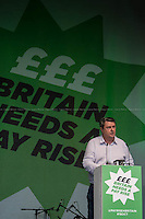 Paul McCarthy (GMB Regional Secretary for the North West and Irish Region).  <br />