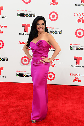 CORAL GABLES, FL - APRIL 24: Penelope Menchaca arrives at the 2014 Billboard Latin Music Awards at Bank United Center on April 24, 2014 in Miami, Florida.  Credit: MPI10/MediaPunch