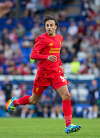 Lazar Markovic of Liverpool during the 2016/17 Pre Season Friendly match between Tranmere Rovers and Liverpool at Prenton Park, Birkenhead, England on 8 July 2016. Photo by PRiME Media Images.