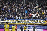 VOETBAL: LEEUWARDEN: 08-11-2015, SC Cambuur - FC Groningen, uitslag 2-2, Cambuur supporters, ©foto Martin de Jong