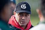 Manurewa Coach George Leaupepe. Counties Manukau Premier rugby game between Karaka & Manurewa played at the Karaka Domain on July 5th 2008..Karaka won 22 - 12.