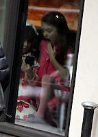 Katie Holmes  and Suri Cruise Seen at Sugar And Plumm NY