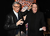 Kreskin  and Tommy James attend &quot;The Amazing Kreskin&quot; <br /> Off Broadwy show on April 11, 2018 at the Lion Theatre in New York City. <br /> <br /> photo by Robin Platzer/Twin Images<br />  <br /> phone number 212-935-0770