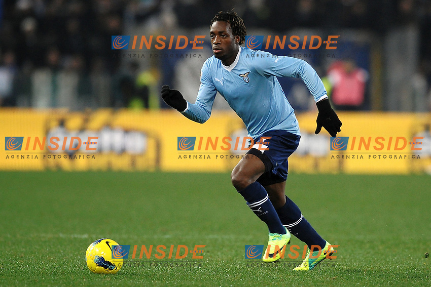 "Luis Cavanda Lazio.Roma 18/12/2011 Stadio ""Olimpico"".Football Calcio 2011/2012 Serie A.Lazio Vs Udinese 2-2.Foto Insidefoto Andrea Staccioli"