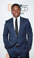 NEW YORK, NY October 12, 2017Jason Mitchell attend 55th NYFF present  premiere of Mudbound  at Alice Tully Hall in New York October 12,  2017. Credit:RW/MediaPunch