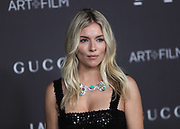 LOS ANGELES - NOVEMBER 2:  Sienna Miller at the 2019 LACMA Art + Film Gala Presented By Gucci at LACMA on November 2, 2019 in Los Angeles, California. (Photo by PictureGroup)