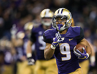Myles Gaskin takes off for a 45 yard touchdown run.
