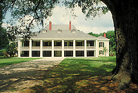 Historic Desthrehan Plantation in Louisiana Bayou country. LA USA.