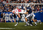 _E2_0692<br /> <br /> 16FTB vs SUU<br /> <br /> BYU- 37 <br /> SUU- 7<br /> <br /> November 12, 2016<br /> <br /> Photography by: Nathaniel Ray Edwards/BYU Photo<br /> <br /> © BYU PHOTO 2016<br /> All Rights Reserved<br /> photo@byu.edu  (801)422-7322<br /> <br /> 0692