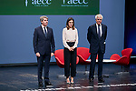Queen Letizia of Spain attends to 'V de Vida' AECC awards at El Canal Theatre in Madrid, Spain. September 24, 2018. (ALTERPHOTOS/A. Perez Meca)