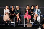 (L to R) Sofia Richie, Lottie Moss, Kenya Kinski Jones and Sarah Snyder, attend a talk show during the Samantha Millennial Stars promotional event on April 27, 2017, Tokyo, Japan. The Japanese fashion and accessories brand is launching a new television commercial directed by Terry Richardson that features the five millennial models. (Photo by Rodrigo Reyes Marin/AFLO)