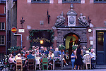 Europe, SWE, Sweden, Stockholm, Old town, Gamla Stan, Stortorget, Restaurant, Tourists....[ For each utilisation of my images my General Terms and Conditions are mandatory. Usage only against use message and proof. Download of my General Terms and Conditions under http://www.image-box.com or ask for sending. A clearance before usage is necessary...Material is subject to royalties. Each utilisation of my images is subject to a fee in accordance to the present valid MFM-List...Contact | archive@image-box.com | www.image-box.com ]