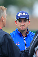 Graeme McDowell (NIR) on the range during Wednesday's Pro-Am Day of the 2014 BMW Masters held at Lake Malaren, Shanghai, China 29th October 2014.<br /> Picture: Eoin Clarke www.golffile.ie