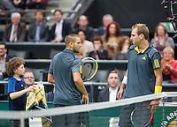 12-02-13, Tennis, Rotterdam, ABNAMROWTT, Thiemo de Bakker, Mikhail Youzhny