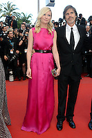 "Walter Salles and Kirsten Dunst attending the ""On the Road"" Premiere during the 65th annual International Cannes Film Festival in Cannes, 23.05.2012..Credit: Timm/face to face"