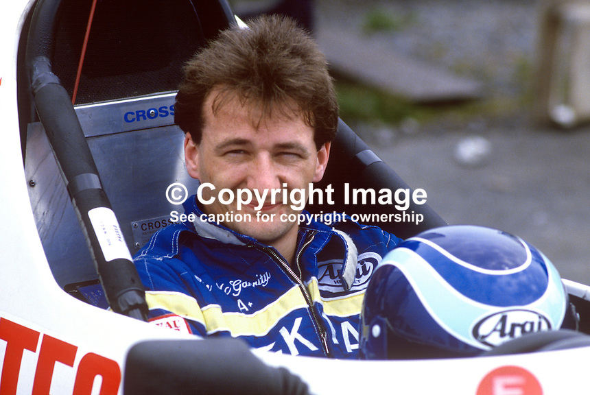 Alan McGarrity, Belfast, N Ireland, racing driver, 19850604AMG1..Copyright Image from Victor Patterson, 54 Dorchester Park, Belfast, UK, BT9 6RJ..Tel: +44 28 9066 1296.Mob: +44 7802 353836.Voicemail +44 20 8816 7153.Skype: victorpattersonbelfast.Email: victorpatterson@me.com.Email: victorpatterson@ireland.com (back-up)..IMPORTANT: If you wish to use this image or any other of my images please go to www.victorpatterson.com and click on the Terms & Conditions. Then contact me by email or phone with the reference number(s) of the image(s) concerned.