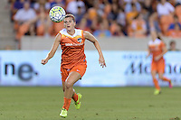 Cari Roccaro (5) of the Houston Dash chases after a loose ball against the Orlando Pride on Friday, May 20, 2016 at BBVA Compass Stadium in Houston Texas. The Orlando Pride defeated the Houston Dash 1-0.
