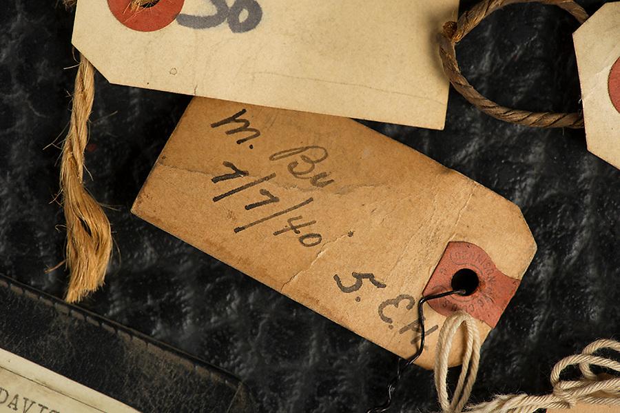 Willard Suitcases / Various Labels / ©2014 Jon Crispin