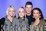 Andrea Collins, Leoni Flaherty, Robert.Birdsall and Allana Sherdin at the launch.of the Hairshow is in aid of Kerry Hospice.