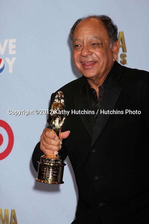 LOS ANGELES - SEP 16:  Cheech Marin in the press room at the 2012 ALMA Awards at Pasadena Civic Auditorium on September 16, 2012 in Pasadena, CA