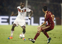 Spain's Isco (r) and Germany's Rudiger during international friendly match.November 18,2014. (ALTERPHOTOS/Acero) /NortePhoto<br />