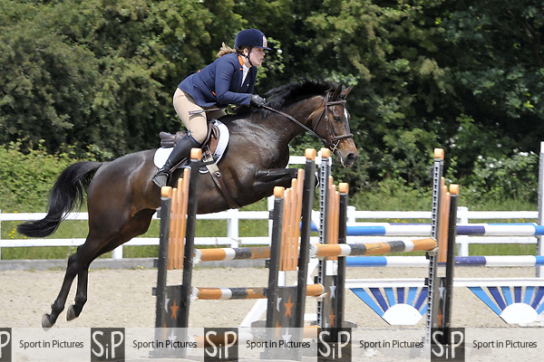 Class 3. British Showjumping seniors. Brook Farm Training Centre. Essex. 09/06/2018. ~ MANDATORY Credit Garry Bowden/Sportinpictures - NO UNAUTHORISED USE - 07837 394578