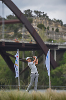 HaoTong Li (CHN) watches his tee shot on 13 during day 3 of the WGC Dell Match Play, at the Austin Country Club, Austin, Texas, USA. 3/29/2019.<br /> Picture: Golffile | Ken Murray<br /> <br /> <br /> All photo usage must carry mandatory copyright credit (© Golffile | Ken Murray)