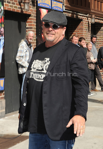 New York,NY-May 7: Rick Harrison Attends The David Letterman Show in New York City on May 7,2014. Credit: John Palmer/MediaPunch