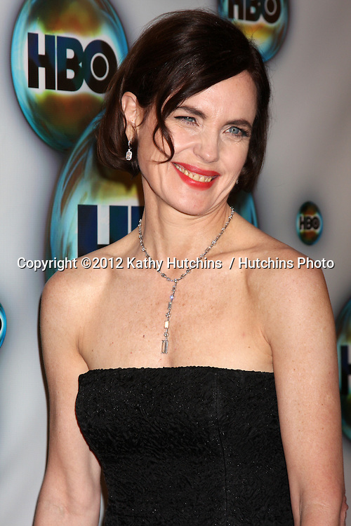 LOS ANGELES - JAN 15:  Elizabeth McGovern_ arrives at  the HBO Golden Globe Party 2012 at Beverly Hilton Hotel on January 15, 2012 in Beverly Hills, CA