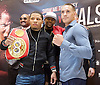 Floyd Mayweather Jr &amp; Frank Warren press conference at The Savoy Hotel, London, Great Britain <br /> 7th March 2017 <br /> <br /> <br /> <br /> <br /> Gervonta Davis <br /> (an American professional boxer who has held the IBF junior lightweight title since January 2017)<br /> <br /> Liam Walsh <br /> (a British professional boxer and the current Commonwealth super featherweight champion)<br /> <br /> <br /> Photograph by Elliott Franks <br /> Image licensed to Elliott Franks Photography Services