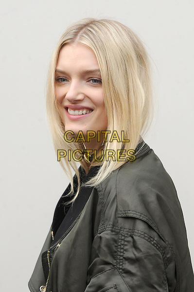 LONDON, ENGLAND - FEBRUARY 22: Lily Donaldson attends the Burberry Prorsum Womenswear A/W 2016 fashion show on West Albert Lawns in Kensington Gardens on February 22, 2016 in London, England.<br /> CAP/BEL<br /> &copy;Tom Belcher/Capital Pictures