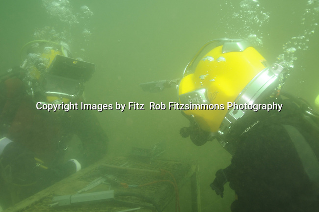 Minnesota School of Diving Students and Instructors photos scuba diving underwater welding