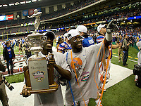 01 January 2010:  Florida Gators vs Cincinnati BearCats during Sugar Bowl at the SuperDome in New Orleans, Louisiana.  Florida defeated Cincinnati, 51-24.
