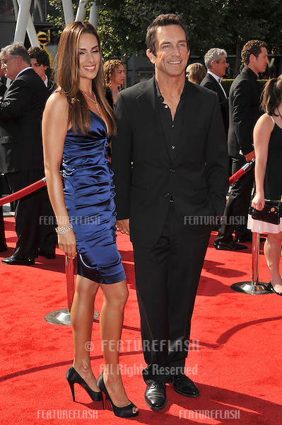 Jeff Probst at the 2011 Primetime Creative Arts Emmy Awards at the Nokia Theatre L.A. Live..September 10, 2011  Los Angeles, CA.Picture: Paul Smith / Featureflash
