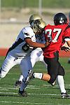 Palos Verdes, CA 11/10/10 - Ernesto Gamboa (Peninsula #66) in action during the junior varsity football game between Peninsula and Palos Verdes at Palos Verdes High School.