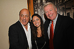Thom Christopher, Jessica Leccia, Jerry verDorn at The One Life To Live Lucheon at the Hemsley Hotel in New York City, New York on October 9, 2010. (Photo by Sue Coflin/Max Photos)