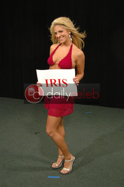 Bridgetta Tomarchio<br /> in the studio for &quot;Hollywood By The Numbers: Beauties Uncovered&quot; Stock Picks by Hot Chicks, featuring the Vixens of Wall Street, Private Location, Pasadena, CA 04-05-06 EXCLUSIVE<br /> <br /> David Edwards/DailyCeleb.com 818-249-4998