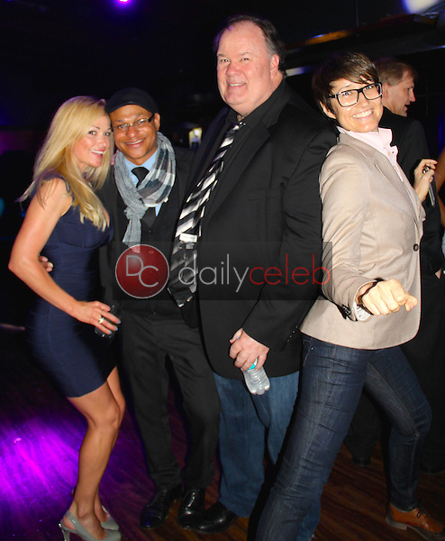 Shay Bacher, Clinton H.Wallace, Dennis Haskins, Claudia Lari<br /> at the 1st Annual Teaming Up For Tourettes Fundraiser, The Attic, Hollywood, CA 06-05-15<br /> David Edwards/DailyCeleb.Com 818-249-4998